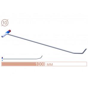 Крючок N-4n (L 110 см., Ø10 мм) Av-tool.