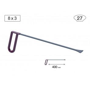 Китовый хвост 18013 (L 400 мм, В 27 мм) Av-tool