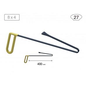 Китовый хвост 18023 (L 400 мм, В 27 мм) Av-tool