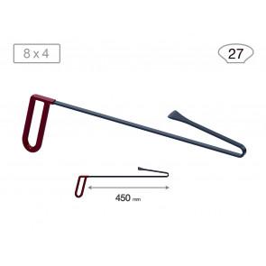 Китовый хвост 18024 (L 450 мм, В 27мм) Av-tool