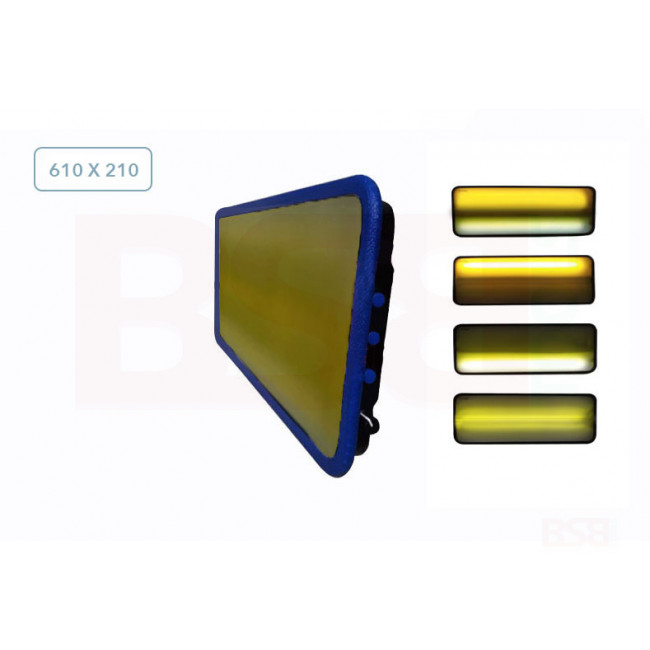 Плафон средний трёхполосный 04078 Av-Tool