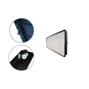 LED плафон средний 04007 Av-tool
