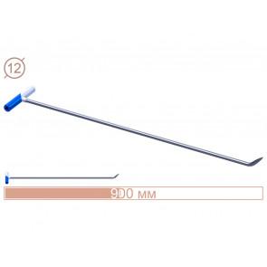 Av-tool. Градовая штанга N-3n (Длина общая 90 см.длина загиба 6 см, угол загиба 45°,Ø 12 мм)