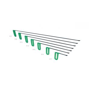 """PDR набор китовых хвостов 12 мм фиксированной ручкой """"Зеленый"""" Carepoint"""