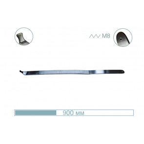 Крючок плоский 17002 Av-tool
