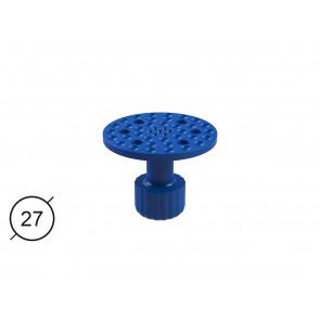 Клеевой грибок Keco, плоский, перфорированный (Ø 27 mm)