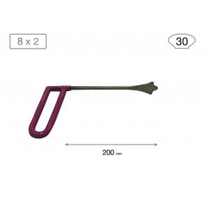 Набор из 3-х опорных китовых хвостов 18007-3 (B 30 мм) Av-tool