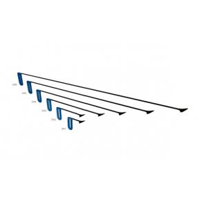"""PDR набор китовых хвостов 40 мм с фиксированной ручкой """"Синий"""" Carepoint"""