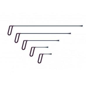 Av-tool. Набор из пяти инструментов для работы под усилителями 18002-5 (27 мм)