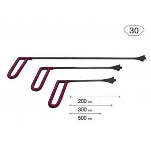 Av-tool. Набор 3Х опорных китовых хвостов 18007-3 (ширина окончания 30мм)