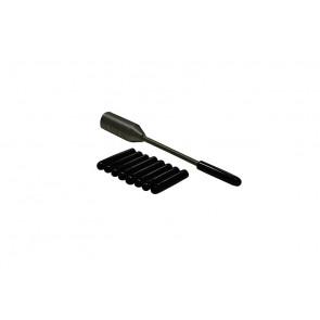Пробойник (Керно) металлический c набором резиновых насадок 03032 A1